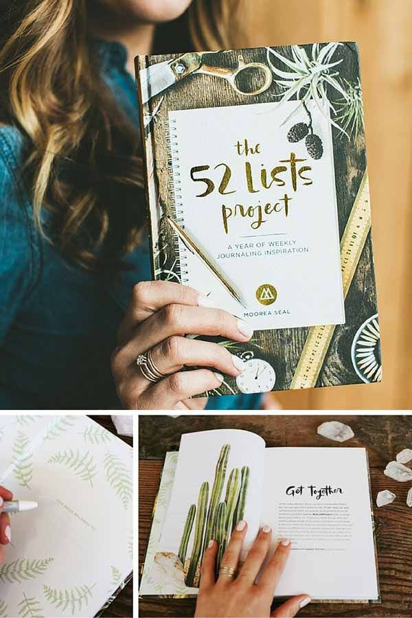 52 Lists Project - 5 Creative Journals for all skill levels