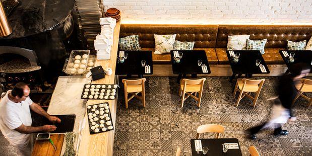 Interior of new restaurant Nomad in Pt. Chevalier. Picture / Babiche Martens.