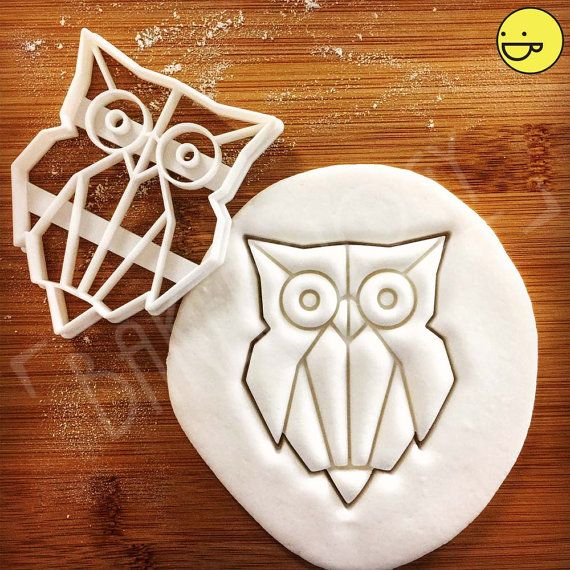 Origami Owl cookie cutter biscuit cutters nocturnal animal