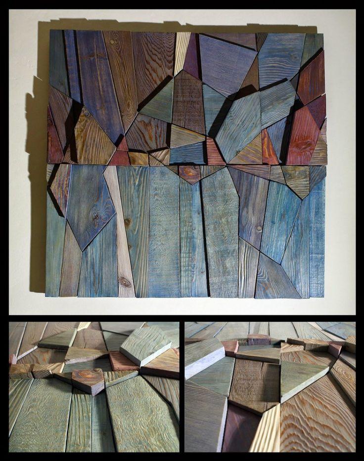 Composition 13, 81 x 79, acrylic on wood, 2014