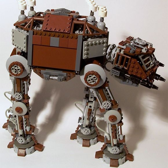 Lego steampunk AT-AT