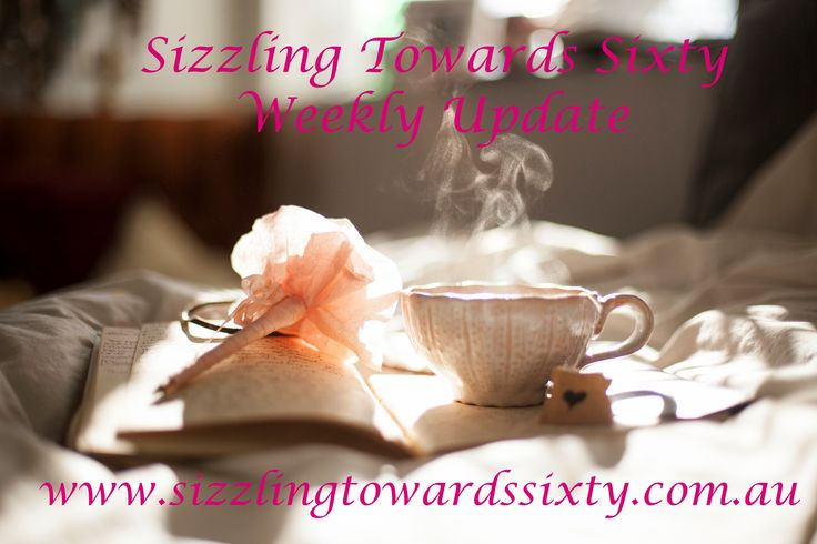 Sizzling Towards Sixty Weekly update. This last week has been a roller coaster ride! Gremlins were lurking in my website so it took 4 days to be fixed