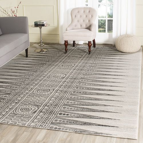Found it at Joss & Main - Verona Rug in Ivory & Gray