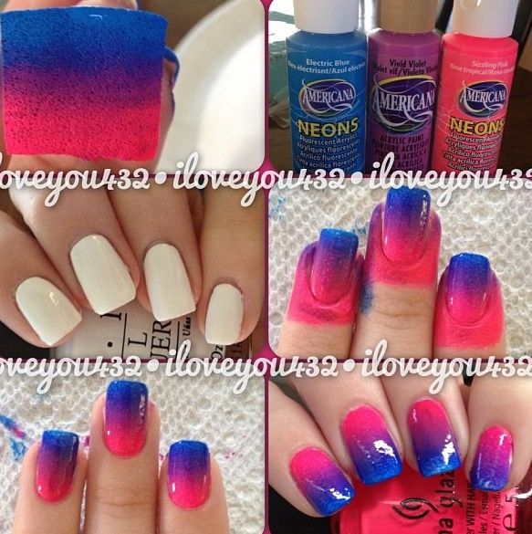 A quick and easy nail design tutorial its really pretty when it comes  out.it takes a few tries though. - 25+ Beautiful Really Easy Nails Ideas On Pinterest Easy Nail