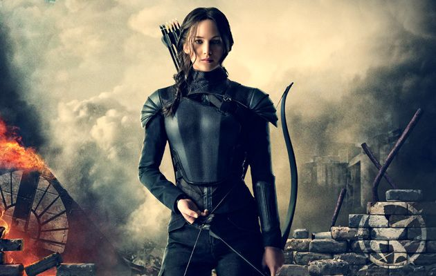 """jennifer lawrence mockingjay outfit 