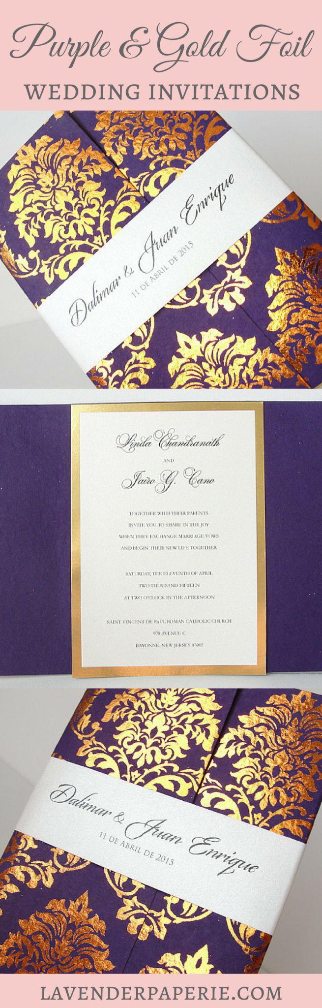 38 best Wedding Flowers Purple images on Pinterest | Wedding ...
