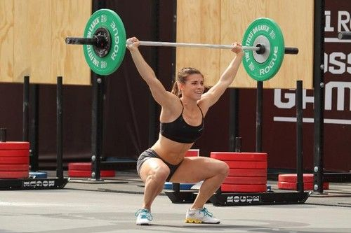 CrossFit - Julie Foucher...she's amazing!