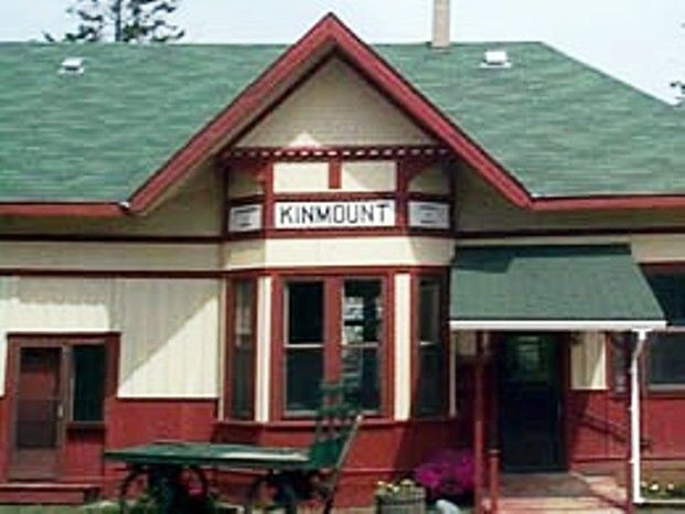 KINMOUNT, Ontario -Canadian National Railways depot
