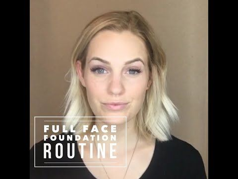 SeneGence full face foundation routine. Love her color choices and looks awesome! Get yours today at www.Senegence.com/NashvilleLipBoutique