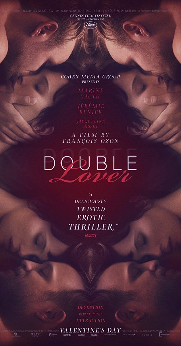 Directed by François Ozon. With Marine Vacth, Jérémie Renier, Jacqueline Bisset, Myriam Boyer. Chloé, a fragile young woman, falls in love with her psychoanalyst, Paul. A few months later she moves in with him, but soon discovers that her lover is concealing a part of his identity.
