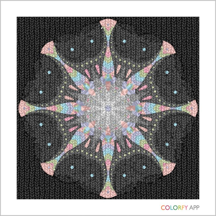 Art I created using the #colorfyapp