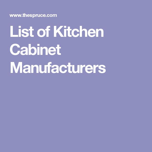 15 Top Kitchen Cabinet Manufacturers And Retailers
