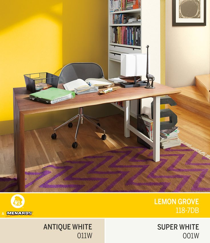 add a bold yellow like dutch boys august color of the month lemon grove - Enrob Color