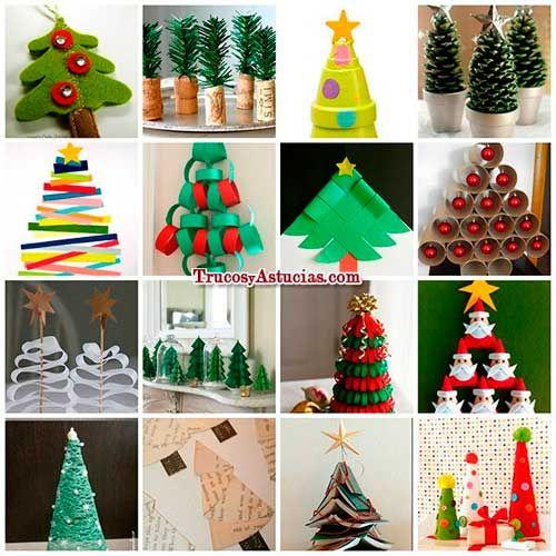 manualidades de árbol de navidad