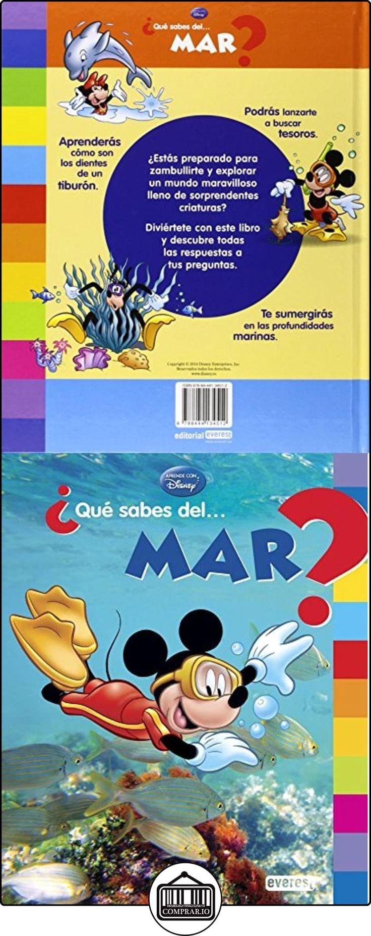 ¿Qué Sabes Del... Mar? Walt Disney Company ✿ Libros infantiles y juveniles - (De 3 a 6 años) ✿