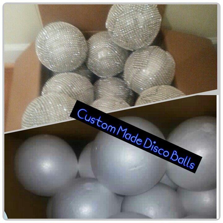 Custom Made Disco Balls 70s Theme Party
