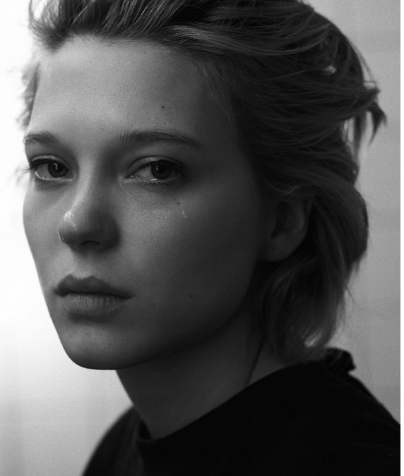 Lea Seydoux in 'Blue is the warmest colour' Grand Central, she has a raw power, a certain wildness.