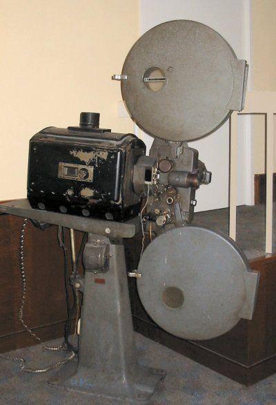 Filmprojector Philips in bioscoop City Utrecht - Projection cinématographique — Wikipédia