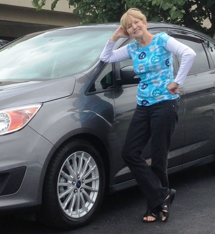 Congratulations to Anna Faye and Stanley Day on your purchase of this awesome, high-tech #Ford C-Max Hybrid.  I know you will love it and enjoy all the additional MPG's you'll get.  Thanks for your repeat business, trust and friendship!  - David Wix