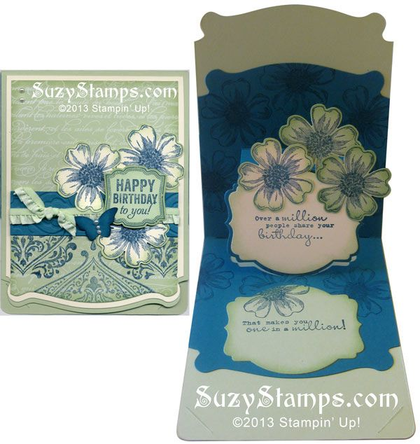 223 Best Images About Stampin' Up! Pop 'n Cuts Cards On