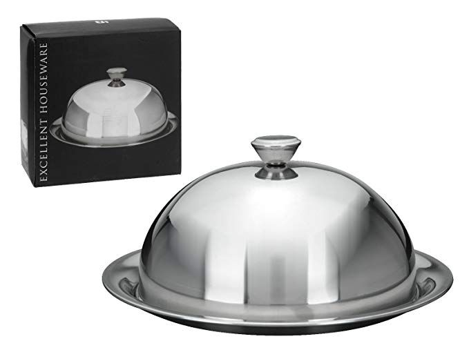 Room Service Plate Covers Details about  /Stainless Steel Dome Plate Cover set of 10