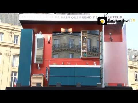 IKEA launches real-life bathroom advert in Parisian campaign