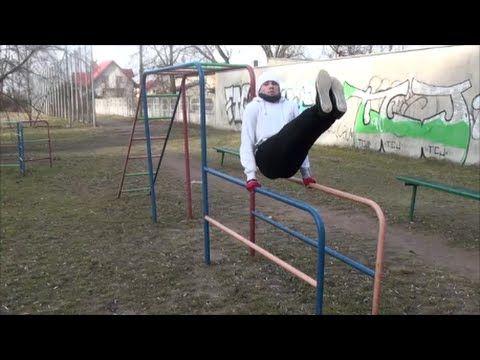 Pół roku treningu z własnym ciałem. Street Workout Sieradz. (Workout Man...