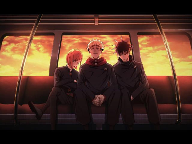 2560x1080 Jujutsu Kaisen Characters 2560x1080 Resolution Wallpaper Hd Anime 4k Wallpapers Images Photos And Background Wallpapers Den In 2021 Anime Backgrounds Wallpapers Anime Lock Screen Wallpapers Anime Background