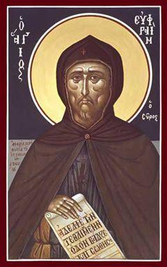 St. Ephraim the Syrian (Kontoglou) Orthodox Icon