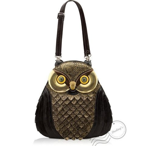 Owl Purse/ Backpack   The Real Wool Shop