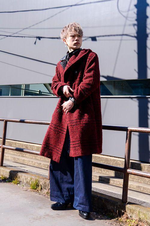 奥村 健司郎 - 原宿ストリートスナップ|ファッションプレス
