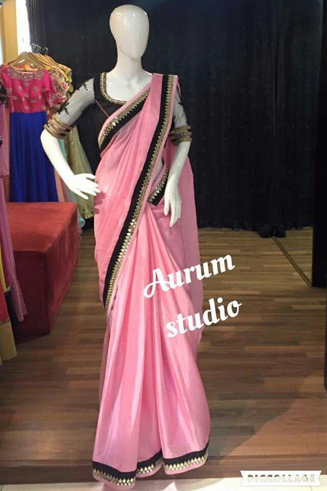 Black beautiful saree