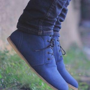 sepatu casual formal headway imagine blue $13