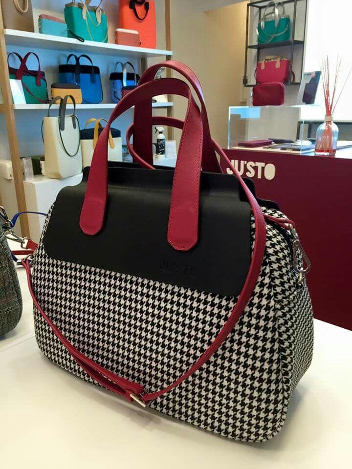 Fall Winter 2015 - 2016 JU'STO borsa J-POPPY made in Italy