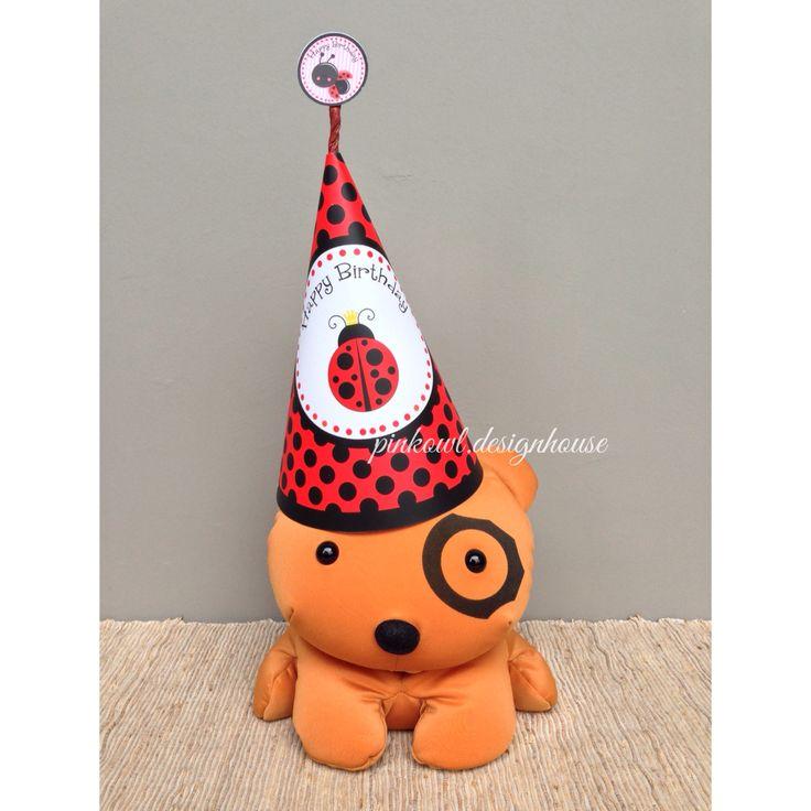 Party hat ladybug