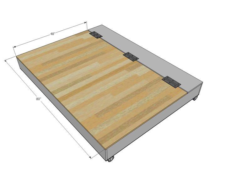 Mejores 100 im genes de cama abatible f cil de hacer en - Construir cama abatible ...