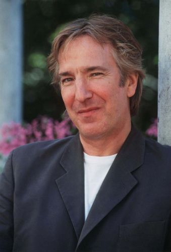 """August 1997 -- This Photo of Alan Rickman is from a series of photos taken during an interview Alan did at the 54th Venice Film Festival in August of 1997. He was there promoting """"The Winter Guest."""""""