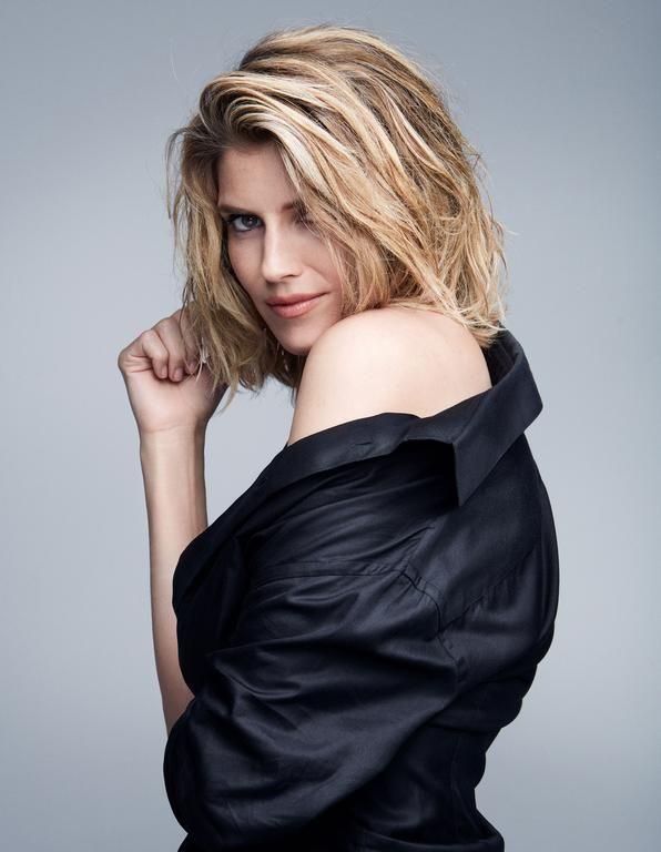 Alice Taglioni wearing a Giorgio Armani shirt