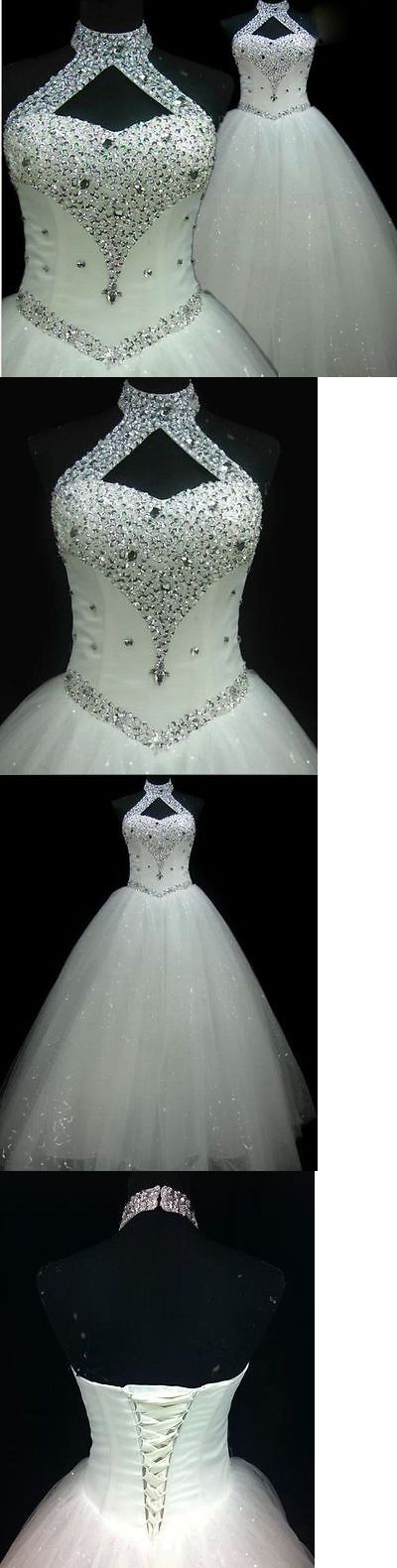 Wedding Dresses: New Backless White Ivory Wedding Dress Bridal Gown Custom Size 6/8/10/12/14/16 BUY IT NOW ONLY: $72.99