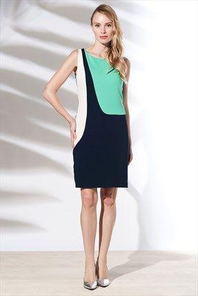 Zanzi - Mint Harem Elbise 4569 ile Trendyol da