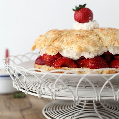 Cake flour is the secret ingredient in this lusciously light shortcake.