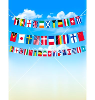 flags of the world blue and white