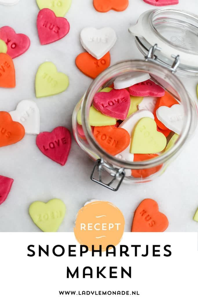 Fonkelnieuw Snoephartjes maken - Je eigen persoonlijke hartjes snoepjes met JS-51
