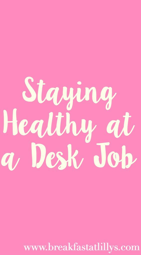 Staying healthy at your desk job can be a little bit of a challenge. Find out how to stay healthy during your 8-5 today on Breakfast at Lilly's.