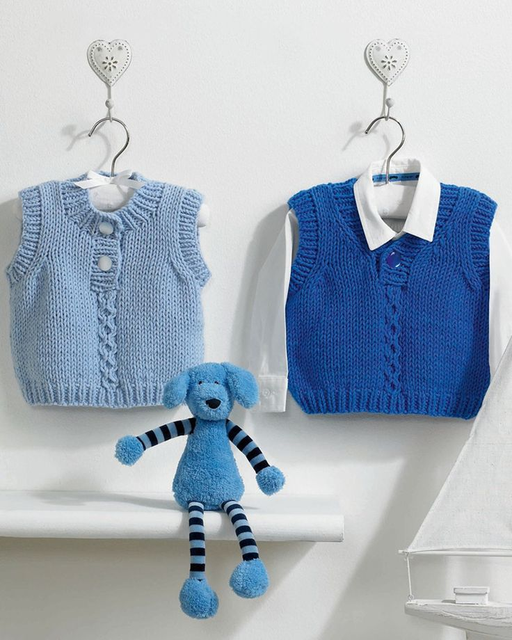Knitted Toddler Waistcoat Pattern