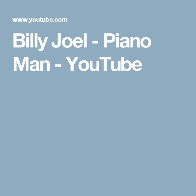 Billy Joel - Piano Man - YouTube