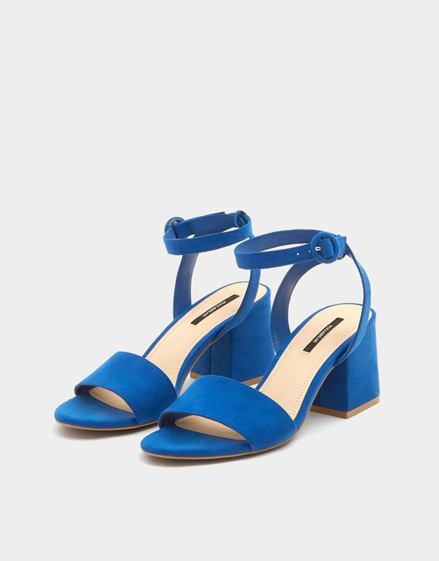 2018Sandalias Summer Summer Azules Shoes Shoes 35RAj4L