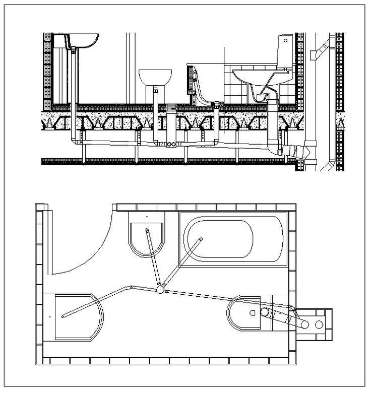 best 25  plumbing drawing ideas on pinterest