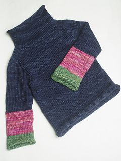 Ravelry project ~ pattern by Purl Soho. Made from Malabrigo Rios, main color is Paris Night.