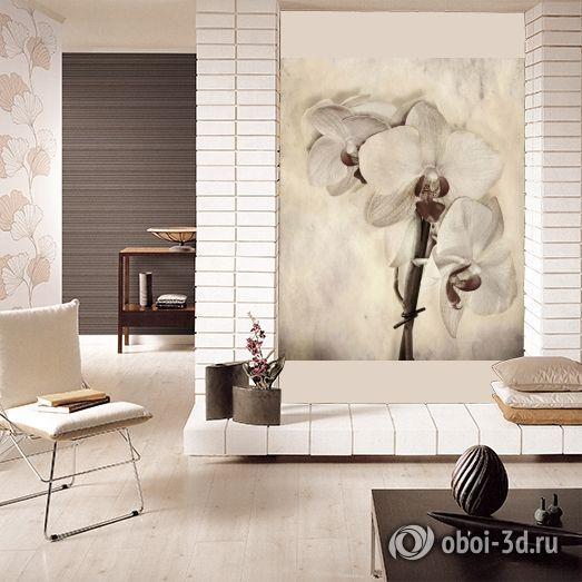"""3D Фотообои """"Живопись: Орхидея"""""""